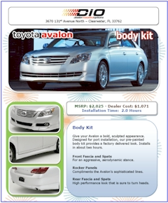 automotive brochure design